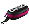 Rapid Swimshop Arena Goggle Case Black - Fushia