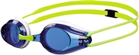 Rapid Swimshop Arena Tracks Junior Goggle blue/white/Fluo Yellow