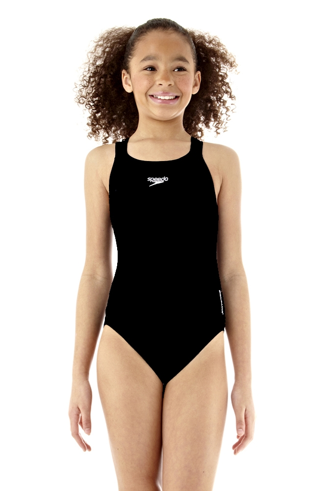 f07afcb6db Rapid Swimshop Speedo Endurance+ Medalist Swimsuit Black - Girls