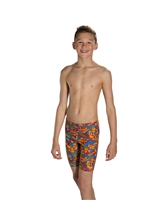 Rapid Swimshop Speedo Endurance10 Clash Block Allover Jammer - Boys