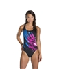 Rapid Swimshop Speedo Endurance+ Placement Powerback Black/Pink