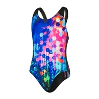 Rapid Swimshop Speedo Endurance+  Placement Digital Splashback Multi - Girls