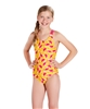 Rapid Swimshop Speedo Endurance10 X-Over One Piece Orange/Pink - Youth