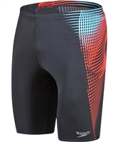 Rapid Swimshop Speedo Endurance+ Placement Black/Red Jammer - Men's