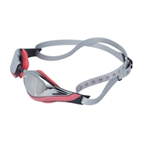 Speedo Fastskin Pure Focus Mirror Goggles Red/Silver Rapid Swimshop