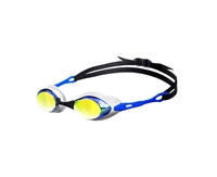 Rapid Swimshop Arena Cobra Mirror Goggles Blue/Orange/Blue