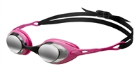 Rapid Swimshop Arena Cobra Mirror Goggles Smoke/Fuchsia/Black