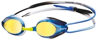 Rapid Swimshop Arena Tracks Mirror Goggle blue/black/blue