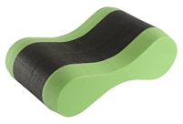 Rapid Swimshop Arena Pull Buoy - Black/Lime