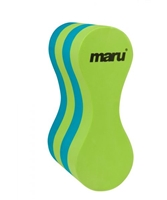 Rapid Swimshop Maru Junior Pull Buoy Lime/Blue