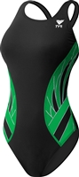 Rapid Swimshop TYR Female Phoenix Splice Green
