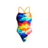Funkita Tie Me Tight One Piece Cumulus - Ladies Rapid Swimshop