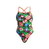 Funkita Tie Me Tight One Piece Tropic Rocket  - Ladies Rapid Swimshop