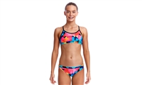 Funkita Racerback Two Piece Colour Burst - Girls Rapid Swimshop