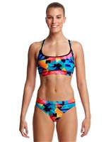 Funkita Sports Two Piece Colour Burst - LadiesRapid Swimshop