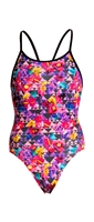 Funkita Diamond Back Petal Prism Rapid Swimshop