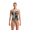 Funkita Diamond Back One Piece Interference- Ladies