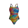 Funkita Diamond Back One Piece Celtic Pride Rapid Swimshop