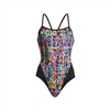 Funkita Single Strap One Piece Flickering Forest Ladies Rapid Swimshop