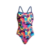 Funkita Single Strap One Piece Mad Mist Ladies Rapid Swimshop