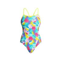 Funkita Single Strap Hexy back Ladies Rapid Swimshop