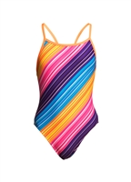 Funkita Single Strap Fine Lines Rapid Swimshop