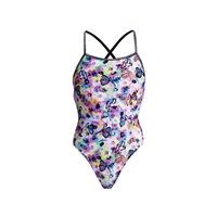 Funkita Strapped In One Piece Water Garden Ladies Rapid Swimshop