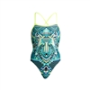 Funkita Strapped In One Piece Wear Wolf Ladies Rapid Swimshop