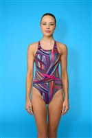 Rapid Swimshop Maru Fibre Optic Pacer Zone Back - Ladies