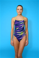 Rapid Swimshop Maru Jungle Rumble Pacer Speed Back  - Ladies