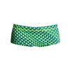 Funky Trunks Classic Trunks Green Gator - Boys