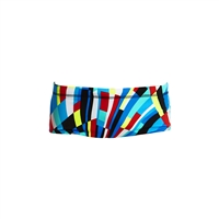 Funky Trunks Classic Trunks Block Chain - Boys
