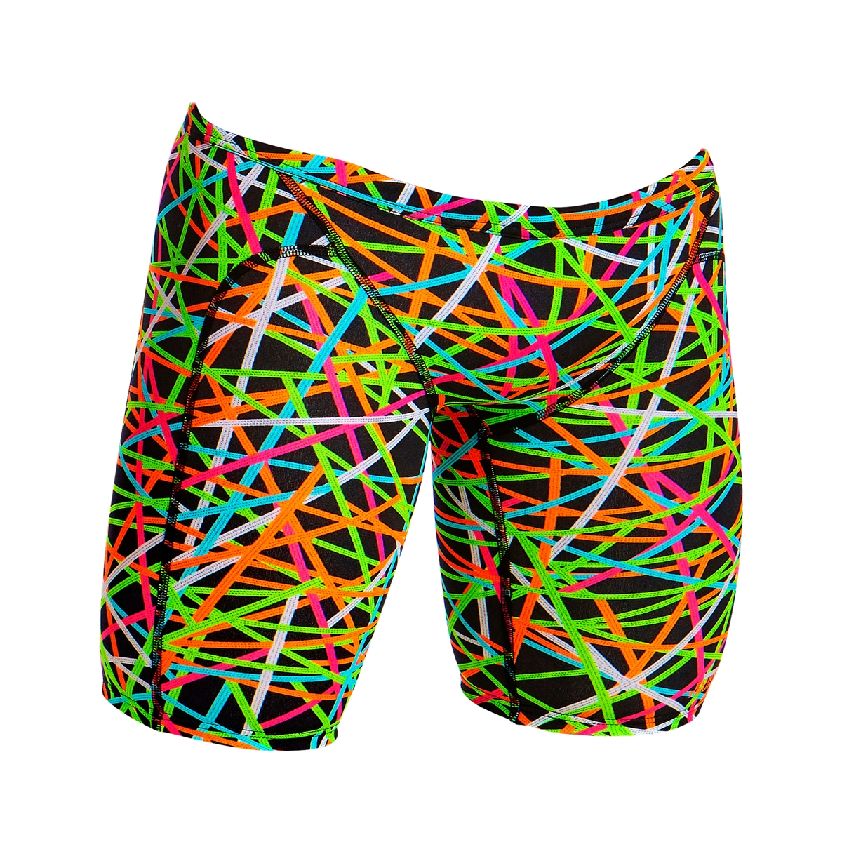 2bdf7a9fe7a05 Funky Trunks Training Jammer Strapped In - Mens Rapid Swimshop