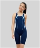 Rapid Swimshop Maru Marble Run Racer Panel Legsuit - Girls