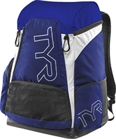 Rapid Swimshop TYR Alliance 45L Backpack Royal/White
