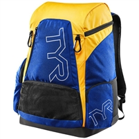 Rapid Swimshop TYR Alliance 45L Backpack Royal/Gold