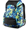 Rapid Swimshop TYR Alliance 45L Backpack Blue/GreeN Geo Print
