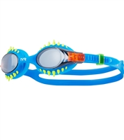 Rapid Swimshop TYR Swimple Spikes Goggles - Smoke/Blue