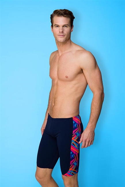 Rapid Swimshop Maru Beam Two Pacer Panel Jammer - Mens