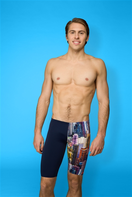 Rapid Swimshop Maru High Rise Pacer Jammer - Mens