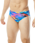 Rapid Swimshop TYR Male Synthesis Male racer briefs Blue/Multi