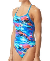 Rapid Swimshop TYR Synthesis Trinityfit Blue/Multi- Ladies