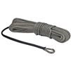 "Extreme Max ""The Devil's Hair"" Synthetic ATV / UTV Winch Rope -  Gray"