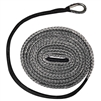 Extreme Max Devil's Hair ATV Synthetic Plow Rope - Gray