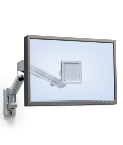 Wall Mount Monitor Arm Best Home Decorating Ideas