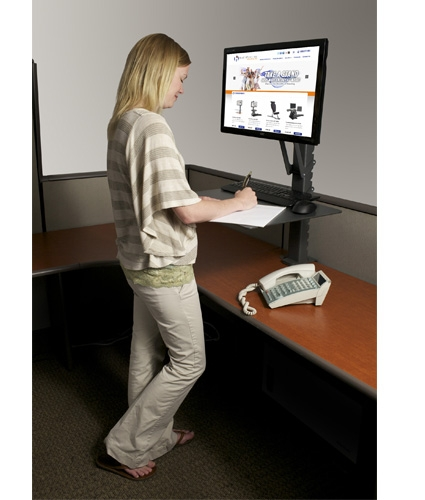 Sit Stand Workstation Fight Sitting Disease