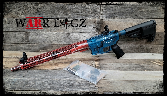 "AR-15 16"" .223 Wylde ""1776"" Complete 80%Rifle"