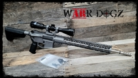 "AR-15 18"" 2.23 Wylde Complete 80% Rifle"