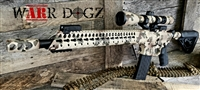 AR-15 Big Bore Reptile Camo 80% Rifle