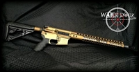 ".458 Socom/.450 Bushmaster Complete 80% Rifle - ""The Warr Pig Elite"""